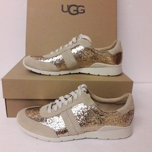 New UGG Glitter Sneakers Size 11